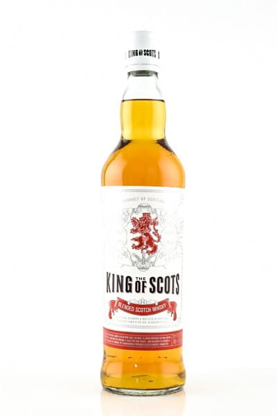 King of Scots Blended Scotch Whisky 40%vol. 0,7l
