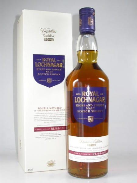 Royal Lochnagar 1998/2010 Distillers Edition 40%vol. 0,7l