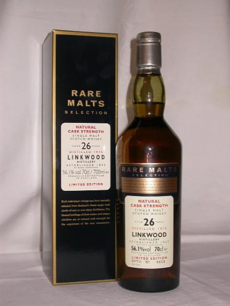 *Linkwood 26 Jahre 1975/2002 Rare Malts 56,1%vol. 0,7l
