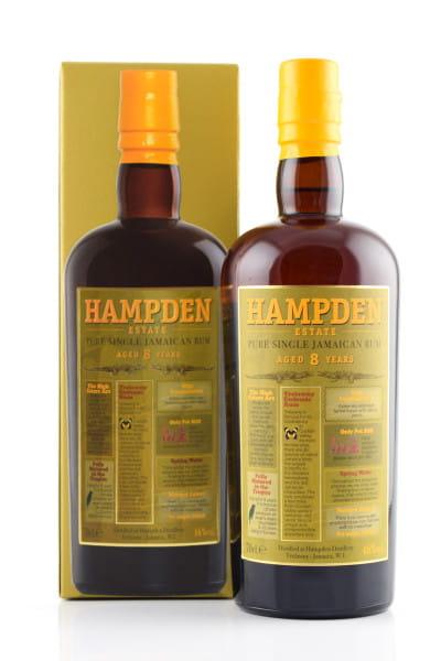 Hampden Estate 8 Jahre Pure Single Jamaican Rum 46%vol. 0,7l