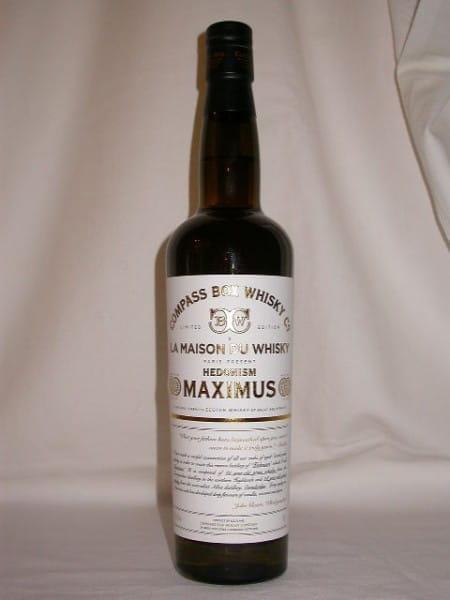 """Hedonism Maximus """"La Maison du Whisky"""" Compass Box 50,1%vol. 0,7l"""