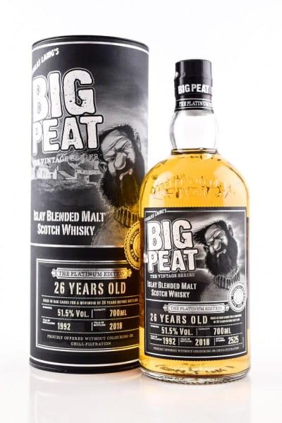 Big Peat 26 Jahre The Platinum Edition Douglas Laing 51,5%vol. 0,7l