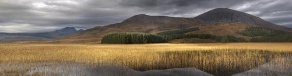 Landschaft - Isle of Skye 120 x 30 cm auf Leinwand