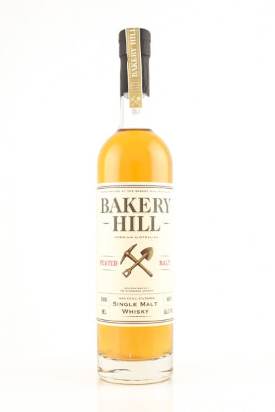 Bakery Hill Peated Malt 46%vol. 0,5l