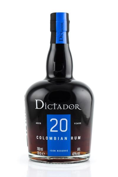 Dictador 20 Jahre Icon Reserve 40%vol. 0,7l