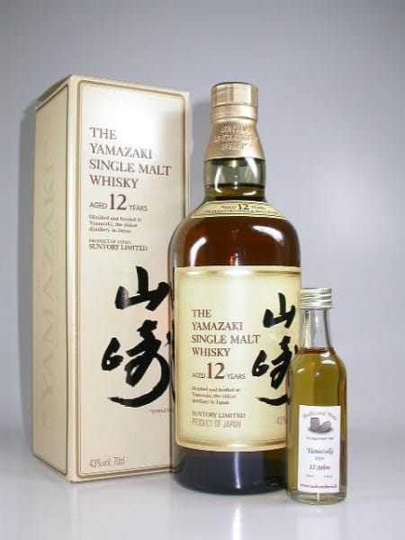 Suntory Yamazaki 12 Jahre 43%vol. Sample 0,05l