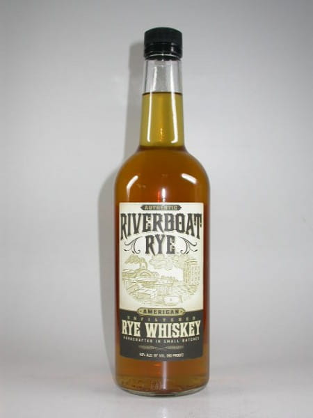 Riverboat Rye - Rye Whiskey 40%vol. 0,7l