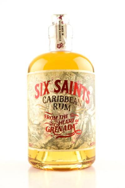 Six Saints Caribbean Rum 41,7%vol. 0,7l