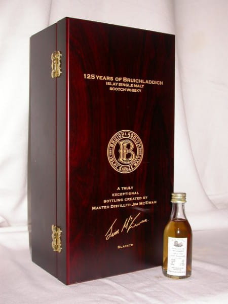 Bruichladdich 125th Anniversary 1970/2006 40,1%vol. Sample 0,05l