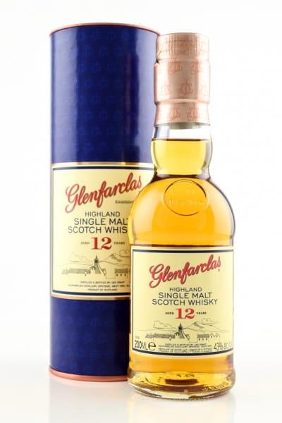 Glenfarclas 12 Jahre 40%vol. 0,2l