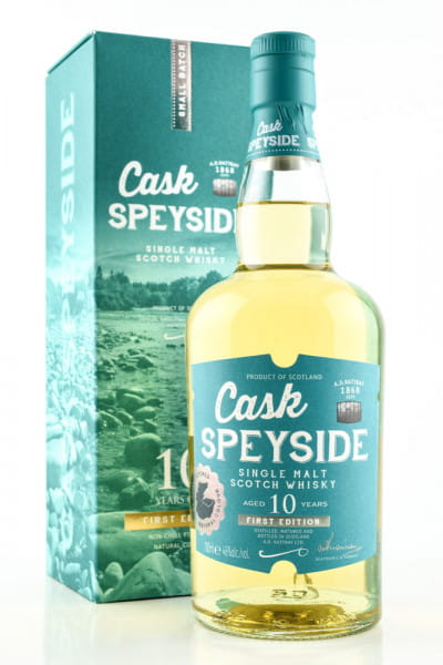 Cask Speyside 10 Jahre A.D. Rattray 46%vol. 0,7l