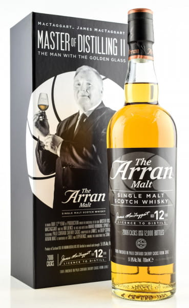 Arran 12 Jahre Master of Distilling II 51,8%vol. 0,7l