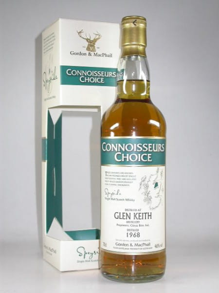 Glen Keith 1968/2008 Gordon & MacPhail Connoisseurs Ch. 46%vol. 0,7l