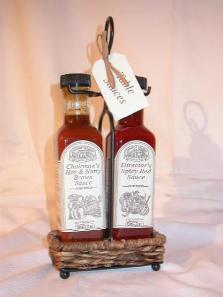 Table Sauce Holder - Chairman's & Director's Sauce 2x 220ml