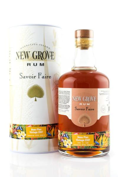New Grove Savoire Faire Beau Plan Vintage 2007 45%vol. 0,7l
