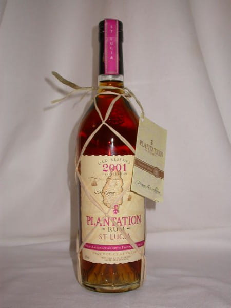 Plantation St Lucia 2001 Old Reserve 45%vol. 0,7l