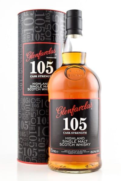 Glenfarclas 105 Cask strength 60%vol. 1,0l
