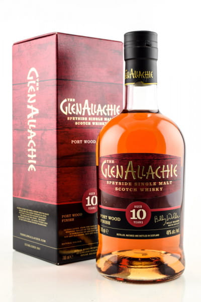 GlenAllachie 10 Jahre Port Wood Finish 48%vol. 0,7l