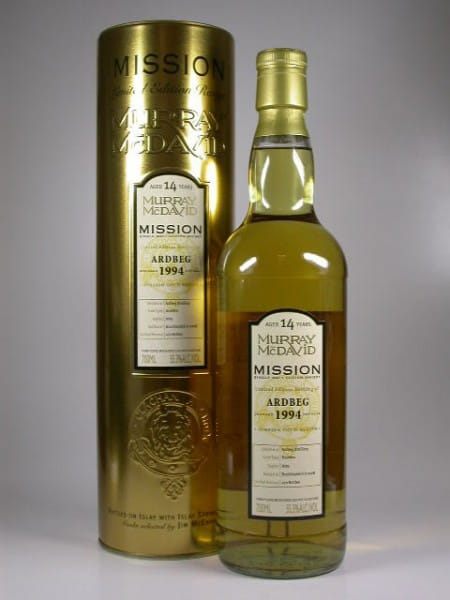 Ardbeg 1994/2008 Murray McDavid Gold Series 55,3%vol. 0,7l