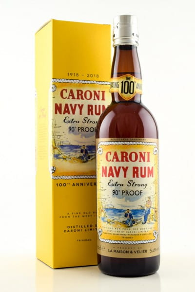 Caroni 100th Anniversary 1918-2018 51,4%vol. 0,7l