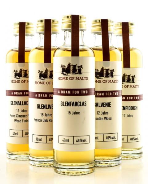 Tasting Selection Speyside Whisky 5 x 0,04l
