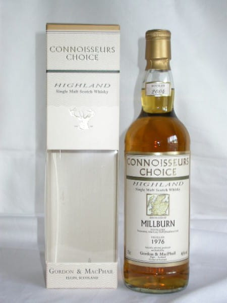 Millburn 1976/2004 Gordon & MacPhail Connoisseurs Ch. 46%vol. 0,7l
