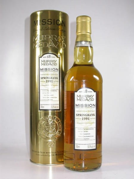 Springbank 1991/2010 Murray McDavid Gold Series 50,3%vol. 0,7l