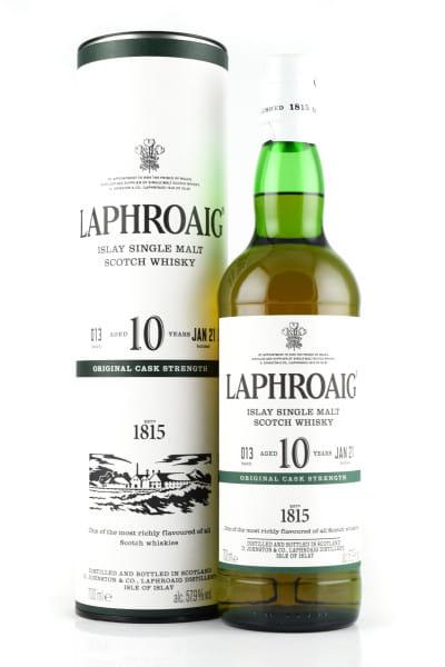 Laphroaig 10 Jahre Cask strength Batch 013 Jan 21 57,9%vol. 0,7l