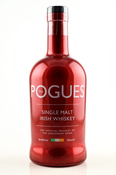 The Pogues Single Malt Whiskey 40%vol. 0,7l