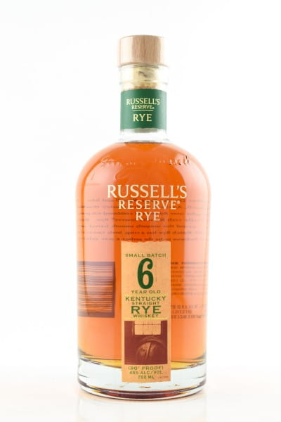 Russell's Reserve Rye 6 Jahre 45%vol. 0,7l