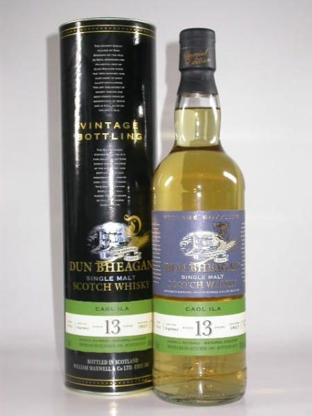 Caol Ila 13 Jahre 1996/2010 Dun Bheagan 43%vol. 0,7l