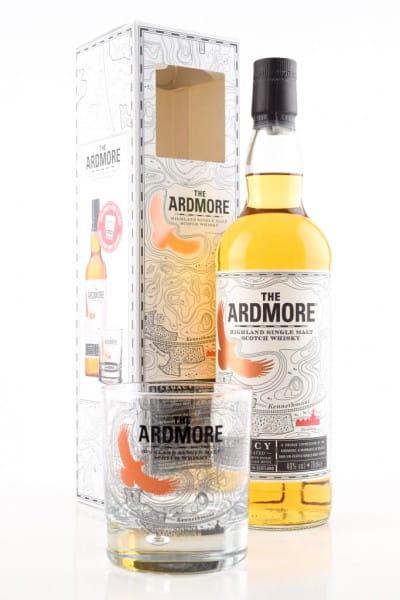 Ardmore Legacy 40%vol. 0,7l mit Glas