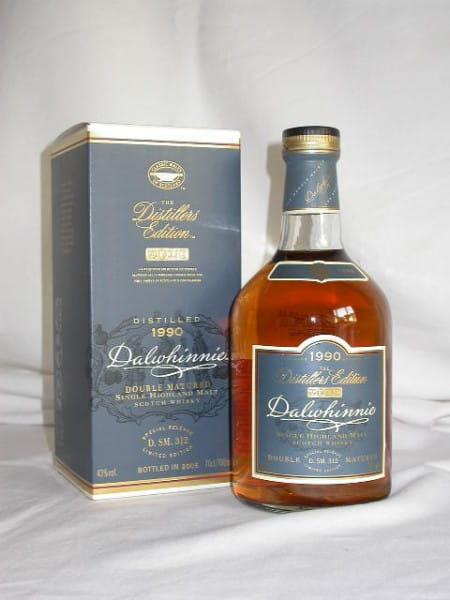 Dalwhinnie 1990/2005 Distillers Edition 43%vol. 0,7l
