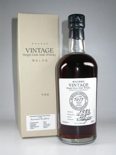 Karuizawa 1985/2009 Single Cask No. 7017 60,8%vol. 0,7l