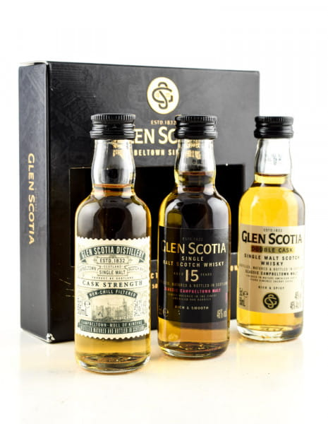 Glen Scotia - The Tasting Collection 3x 0,05l