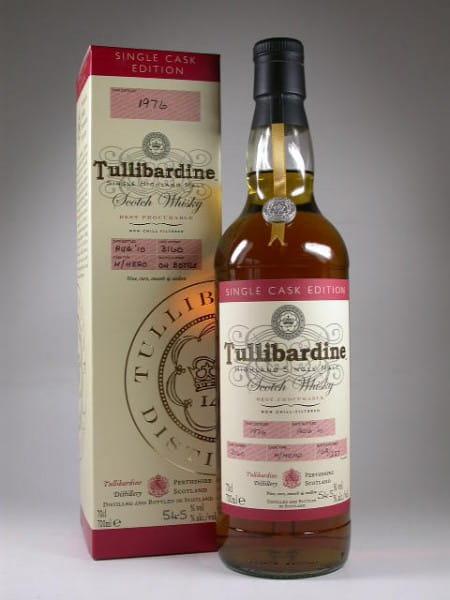 Tullibardine 1976/2010 Single Cask #3160 54,5%vol. 0,7l