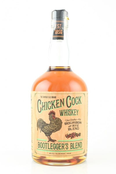 Chicken Cock Whiskey - Bootlegger's Blend 45%vol. 0,7l