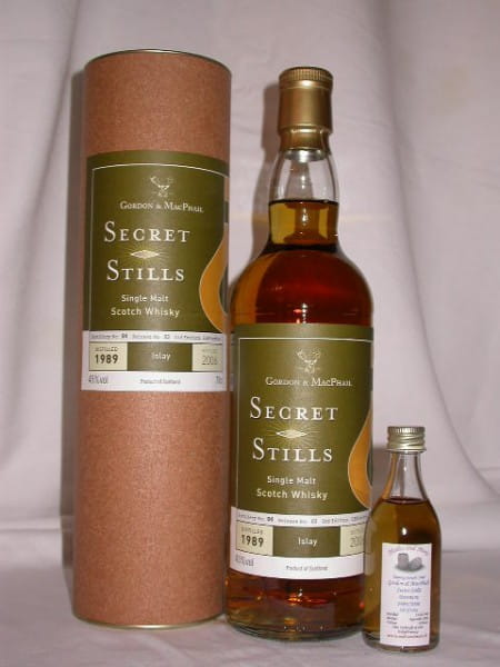 Bowmore 89/06 Gordon & MacPhail Secret Stills 45%vol. Sample 0,05l