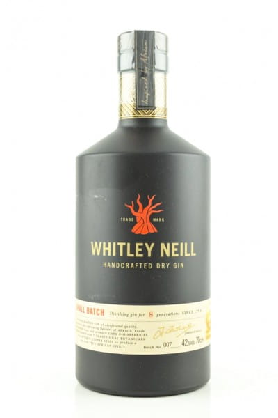 Whitley Neill - London Dry Gin 42%vol. 0,7l