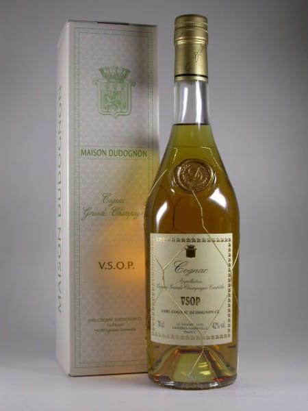 Dudognon VSOP Grande Champagne 42%vol. 0,7l - altes Design