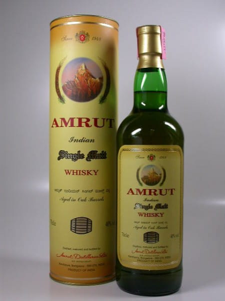 Amrut Aged in Oak Barrels - Indien - 40%vol. 0,7l