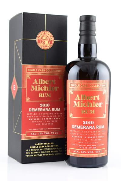 Albert Michler Single Cask Collection Demerara 2010/2020 45%vol. 0,7l