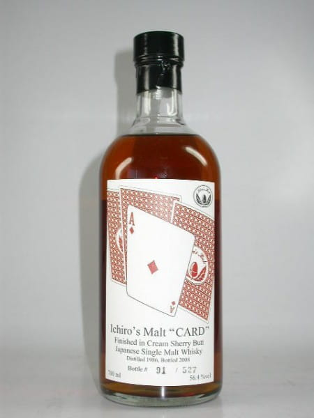 "Hanyu-Ichiro's Malt ""Ace of Diamonds"" 86/08 Single Cask#9023 56,4%vol. 0,7l"