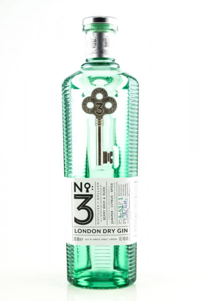 No. 3 - London Dry Gin 46%vol. 0,7l