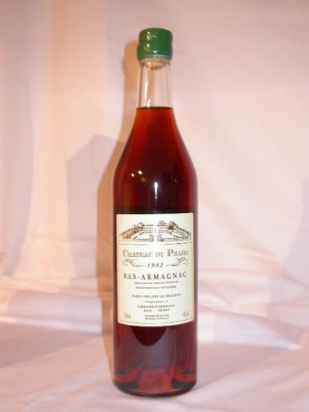 Chateau du Prada 1992 Bas Armagnac 44%vol. 0,7l