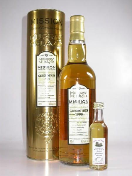 Glenrothes 1990/2009 Bourbon/Jurancon Murray McDavid Gold Series 48,8%vol. Sample 0,05l