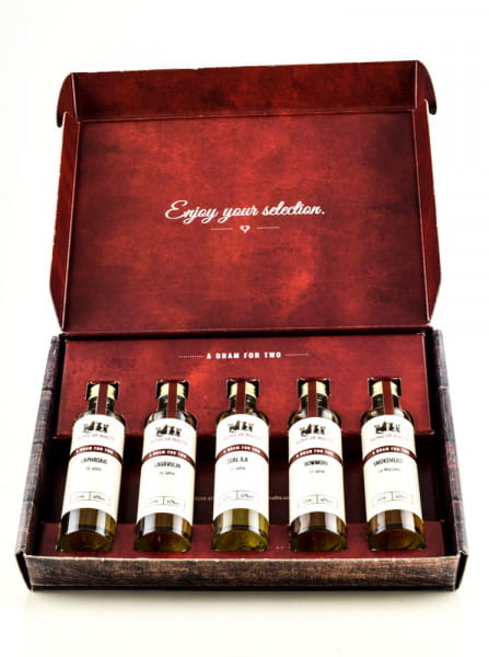 Tasting Selection Peaty Experience 5 x 0,04l