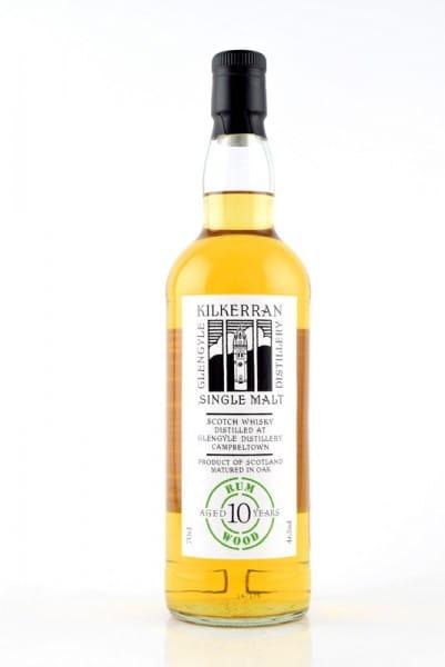Kilkerran 10 Jahre Fresh Rum Wood 46%vol. 0,7l