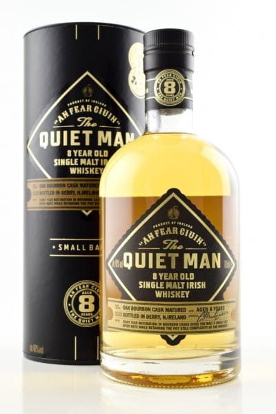 The Quiet Man 8 Jahre 40%vol. 0,7l