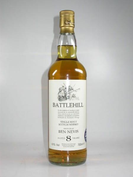 Ben Nevis 8 Jahre Battlehill Duncan Taylor 43%vol. 0,7l